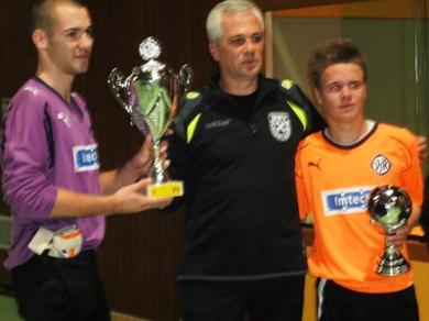 Gewinner des A-Junioren die U18 VfR Aalen und JL. F.Metsch